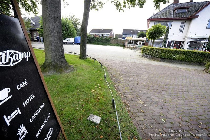 Hotel Fortkamp in Tubbergen staat te koop.