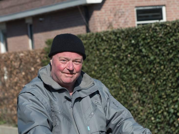 Ad van der Sijs stapt elke dag op zijn fiets
