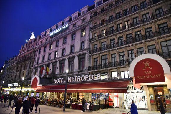 Hotel Metropole in Brussel.