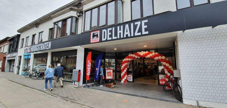 De Delhaize opende donderdag de deuren.