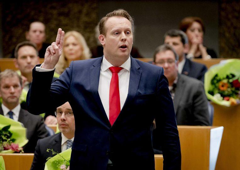 Pieter Heerma: Kamerlid is het allermooiste... Beeld anp