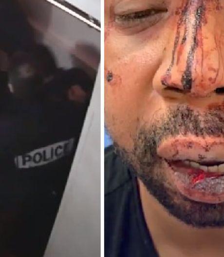 Vier Franse agenten aangeklaagd voor afranselen zwarte man