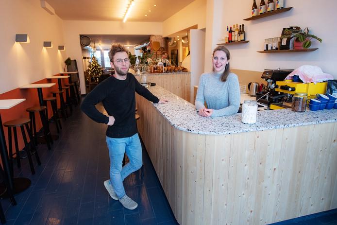 Tobias van Slooten en Laura Bouhuys.
