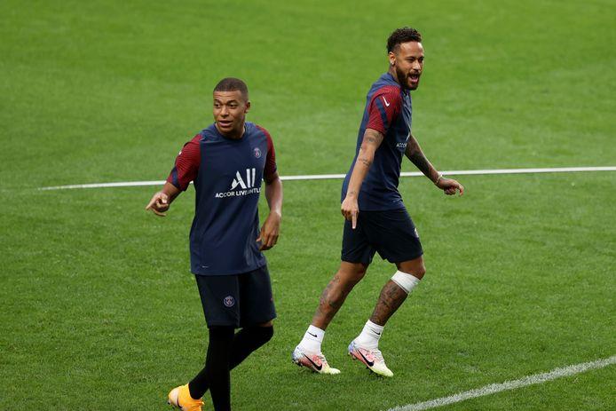 Mbappé en Neymar.