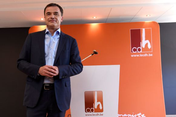 CdH-voorzitter Lutgen.
