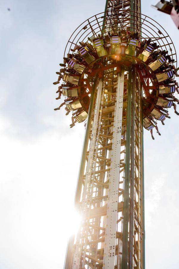 Tilburg: de 90 meter hoge Mine Tower.