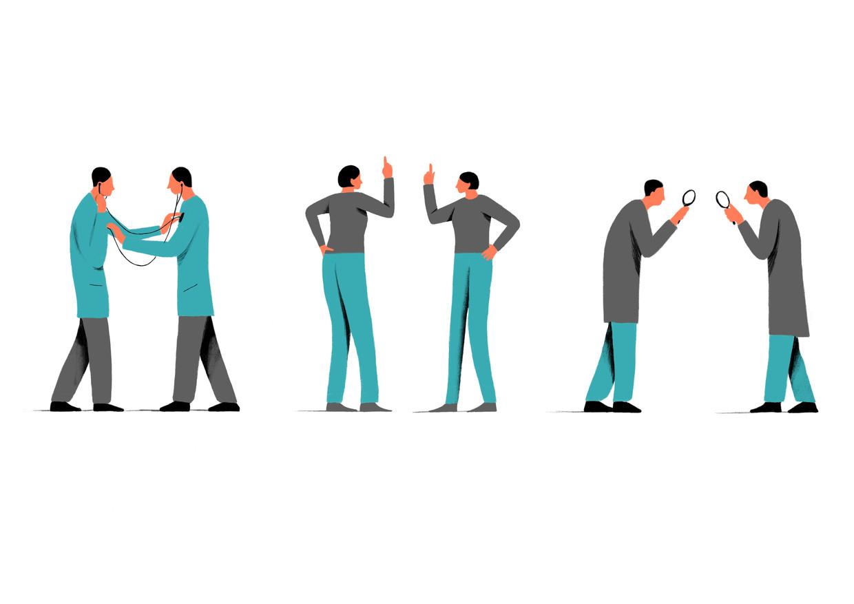 Veel kritische professionals maken horizontale controle tot een bijna-dogma