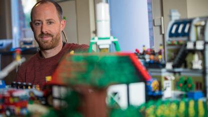 Van Vestiville over de dood van de twee brandweermannen tot de klimaatspijbelaars: Limburger bouwt eindejaarsoverzicht in LEGO