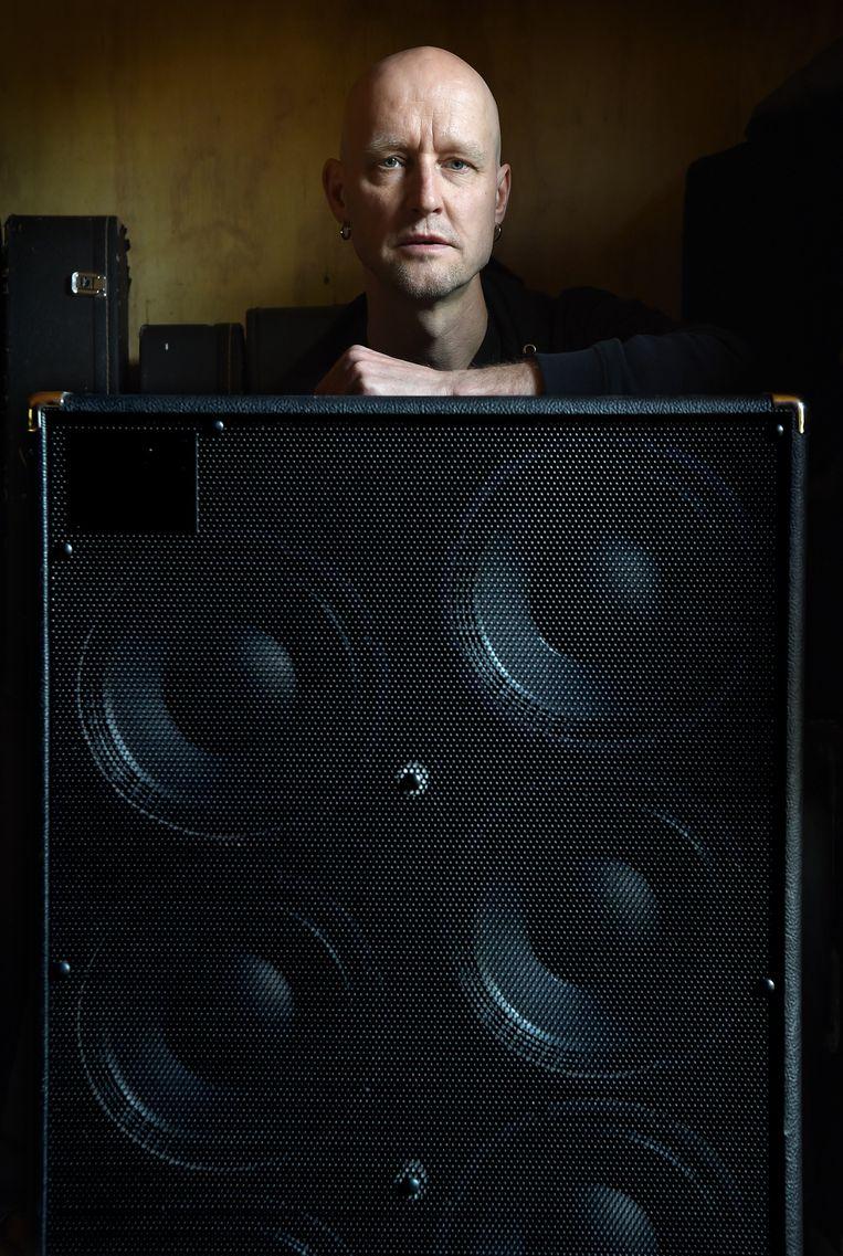 Bluesmuzikant Ruud Weber Beeld Marcel van den Bergh