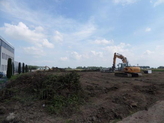 De grond bij De Rietdijk wordt onder handen genomen