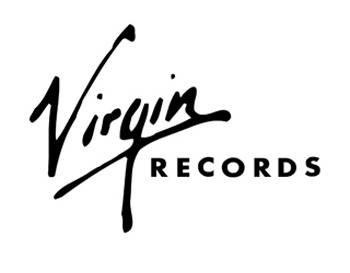 Het bekende virgin-logo uit de jaren '80.