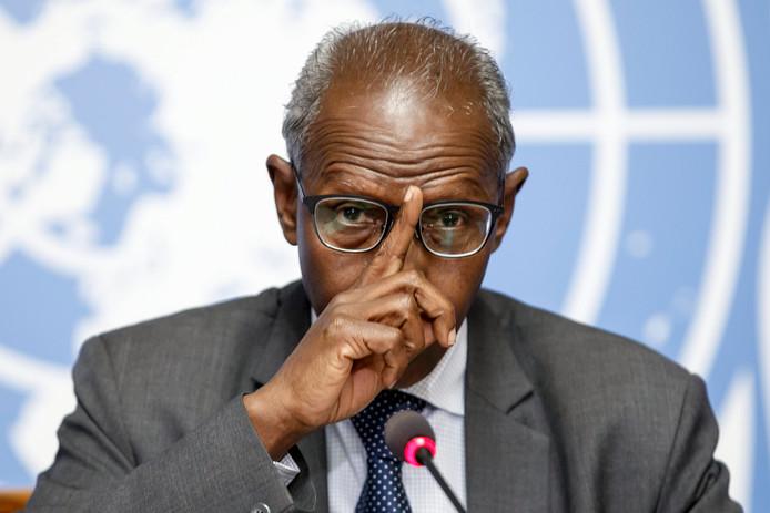 Yemane Gebreab, de tweede man van de YFPDJ.