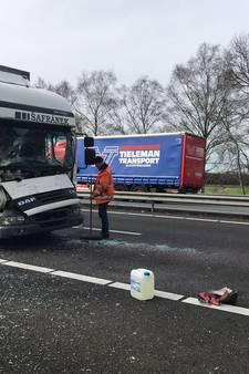 Verkeersoverlast op A67 bij Eindhoven voorbij na kettingbotsing