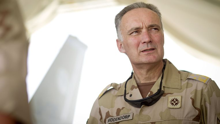 Generaal Tom Middendorp. Beeld ANP