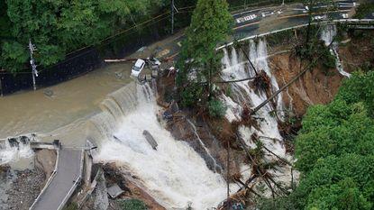 Tyfoon Lan eist vijf mensenlevens in Japan
