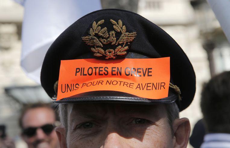 Pilotenstaking in Frankrijk Beeld ap