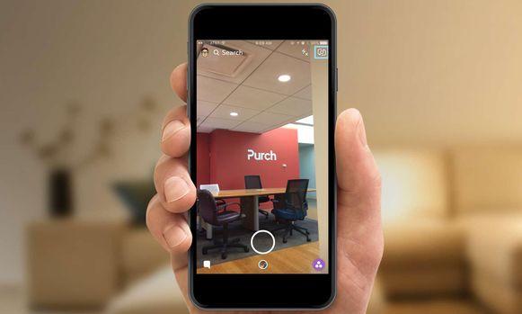 Stap 1: Gebruik voor deze functie de camera op de achterzijde van je smartphone. Tik op het icoon in de rechterbovenhoek als je camera op selfie-modus staat.