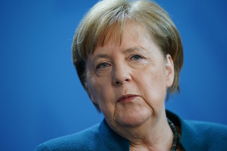De Duitse bondskanselier Angela Merkel (65).