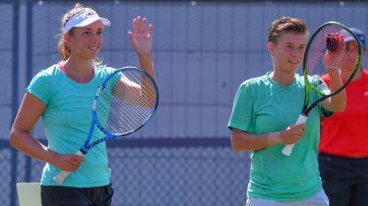 Elise Mertens met Demi Schuurs naar finale dubbelspel in Cincinnati