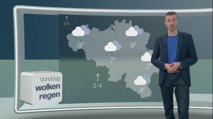 """Weerman Bram Verbruggen beleeft vuurdoop op Eén: """"Het moeilijkste? Het praatje dat niét over het weer gaat"""""""