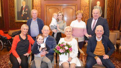 Willy en Diana delen 65 jaar lief en leed