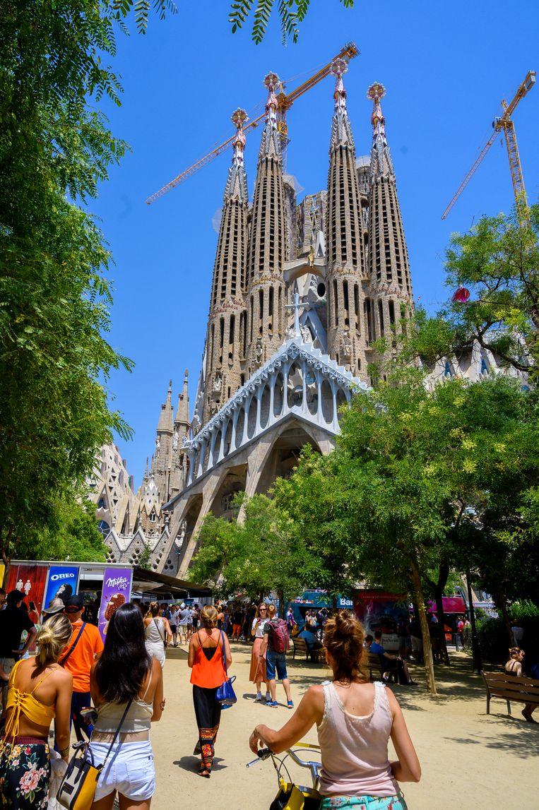 Sagrada Familia, Barcelona, Spanje. Beeld Getty