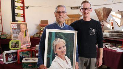 Van koekjesdozen tot schilderijen en boeken: Willy Van Den Brande (80) heeft grootste verzameling van koningshuis