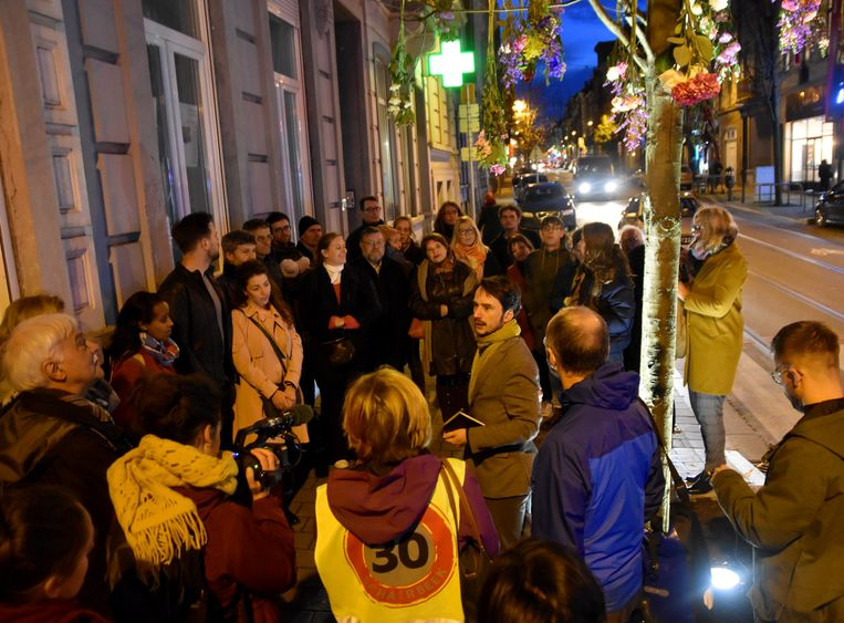 Actievoerders en familie kwamen donderdag samen.