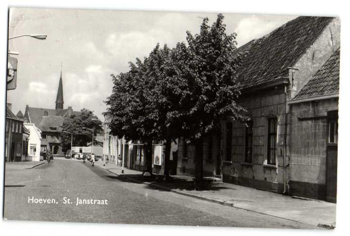De Sint Janstraat in vroeger tijden