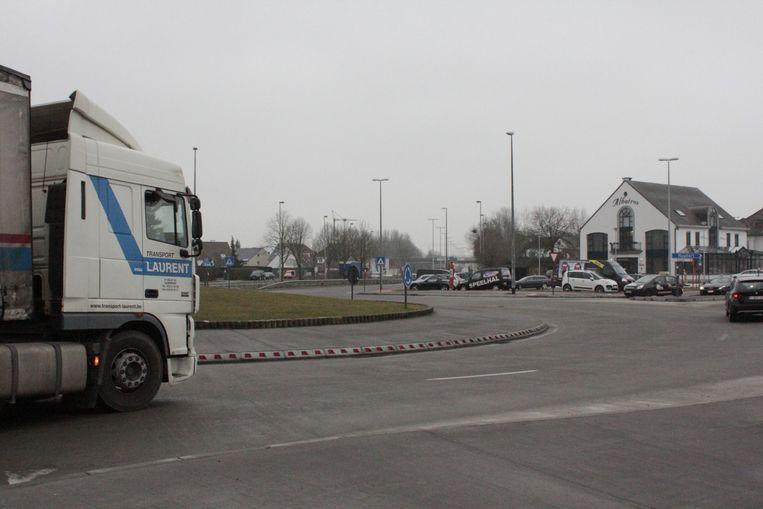 Het ongeval gebeurde aan de Albatros in Aalst.