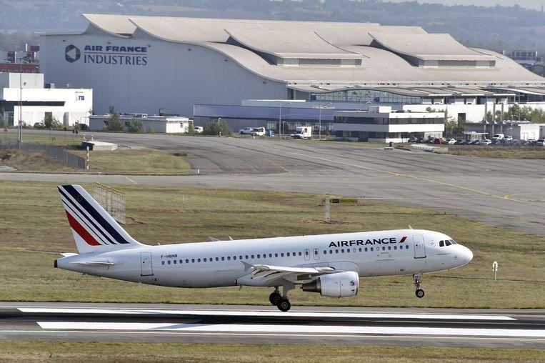 Op 29 september werden de vluchten van Air France weer hervat. Beeld afp