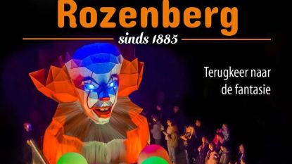 Zeventien praalwagens voor 135ste Rozenberg Lichtstoet
