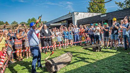 Feestelijke opening van nieuwe lokalen bij scouts Roeselare