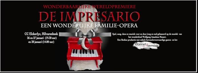 Lizet van Beek, Huub de Bruijn en Margret Engel spelen de hoofdrollen in De Impresario.