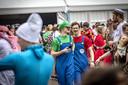 De jaarlijkse megaparty na de carnavalsoptocht in Albergen.