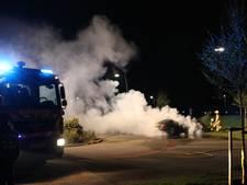 Auto uitgebrand in Nijkerk