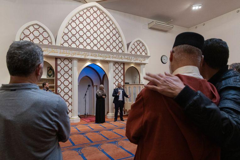De Blauwe Moskee in Nieuw West. Beeld Dingena Mol