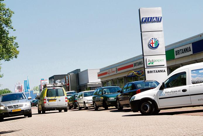De autosector op Baskensburg kan gezelschap krijgen van specialistisch bedrijven in elektrische auto's, maar ook van scooterwerkplaatsen en bezorgdiensten.