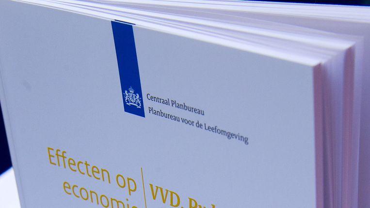 CPB-rapport Beeld ANP