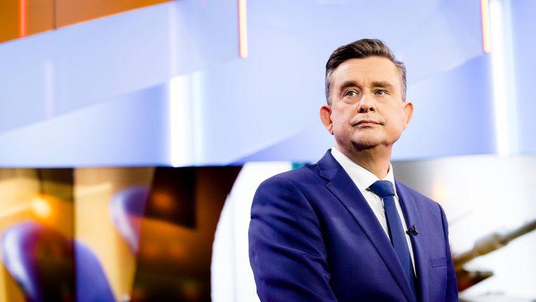 Emile Roemer tijdens het debat van EenVandaag begin maart 2017. Beeld anp