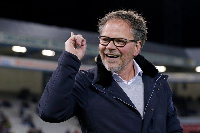 De Graafschap-trainer Henk de Jong is in beeld bij SC Cambuur.