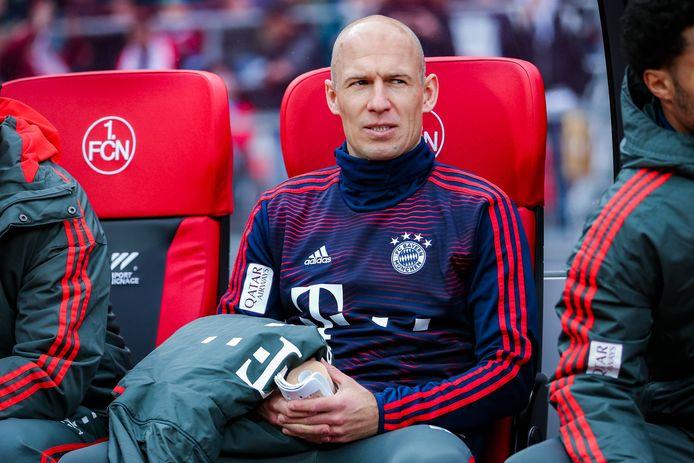 Robben bij Bayern München.