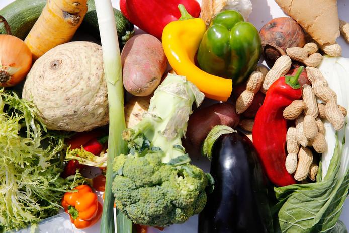 Bezoekers kunnen in het Voedselpark kennismaken met producten die minder vanzelfsprekend zijn in de keuken.