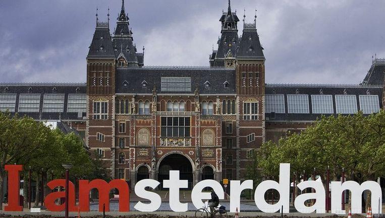 Het Rijksmuseum gezien vanaf het Museumplein. Beeld anp