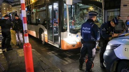 MIVB-bus rijdt in op voetgangers