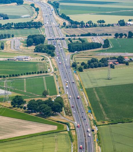 Groot deel A29 komend weekeinde dicht richting Rotterdam vanwege werkzaamheden