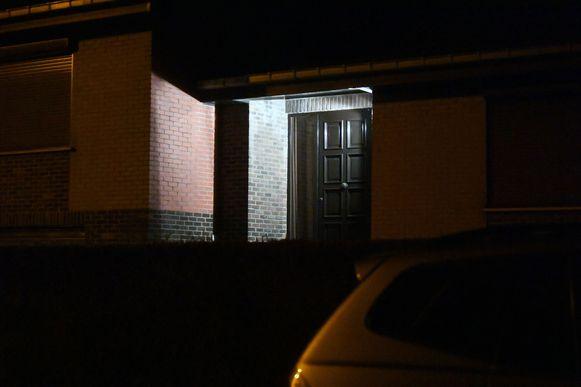 Het huis waar het incident zich afspeelde.