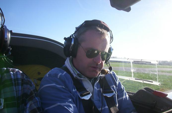 Vlieginstructeur Elbert Westerhout, Prinsenbeek.