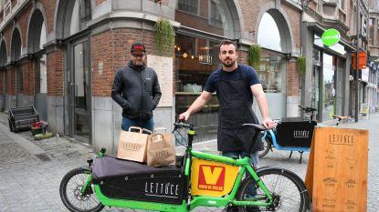 Lunchbar Lettuce levert voortaan aan huis... met de bakfiets!