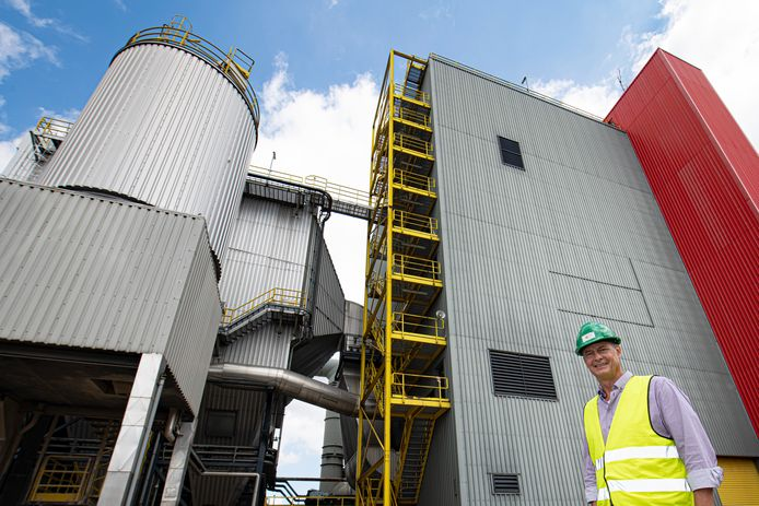 Daniël Goedhuis, mede-eigenaar van de Cuijkse biomassacentrale.